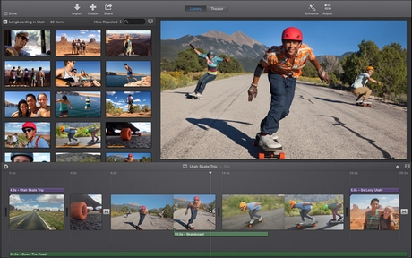 Image de iMovie sur Mac