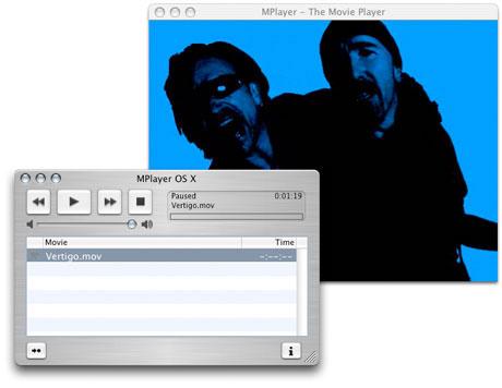 Image de MPlayerOSX sur Mac